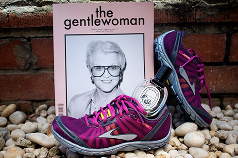 petite street - The gentlewoman magazine, Diptyque Philosykos EDT, Brooks trainers
