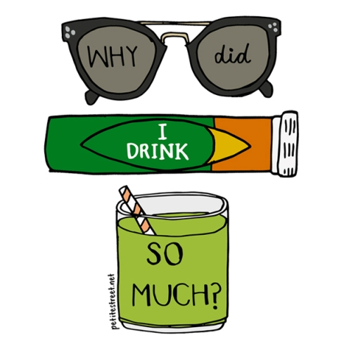 petite-street-hangover-remedy-illustration-tiffany-loh-celine-sunglasses-eat-clean
