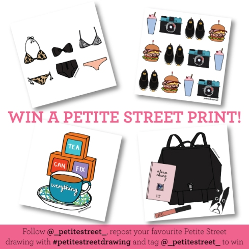 Instagram competition: Win a Petite Street print